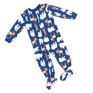 Carter's Long Sleeve Fleece Footie 2T